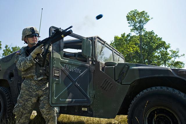 Image courtesy of Flikr userThe U.S. Army.