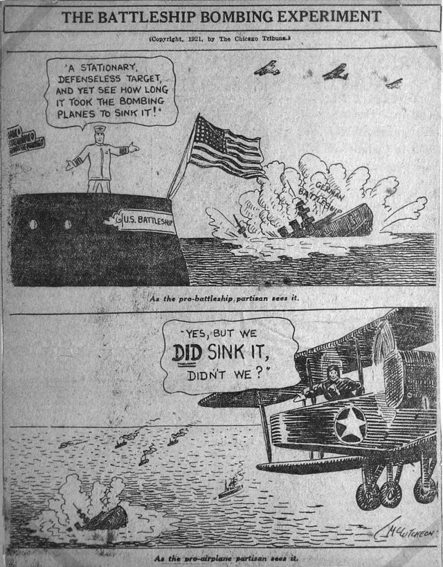 1921 cartoon from the Chicago Tribune. Image courtesy of Wikipedia.