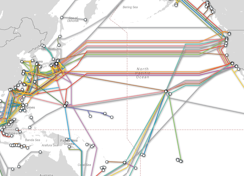 Image courtesy of Submarine Cable Map.